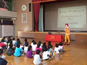 つがる市育成小学校防犯教室(青...