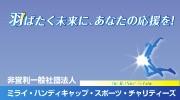 一般社団法人 ミライ・ハンディキャップ・スポーツ・チャリティーズ(倉内未来所属)
